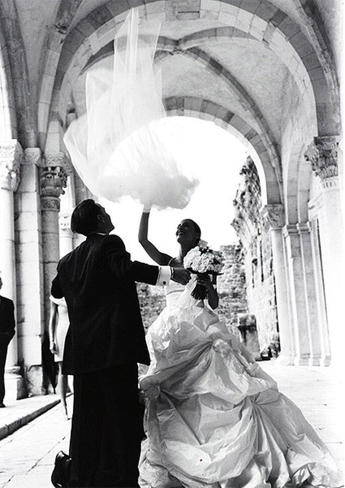Mercedes et Alejandro rêvaient de célébrer leur union à Rome. Photo: Ale Zorcolo