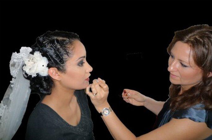 Maquillage de la mariée - photo Sébastien-C