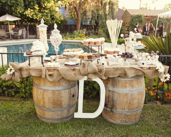 #MartesDeBodas: La boda vintage perfecta - Foto Jennifer Eileen Photography