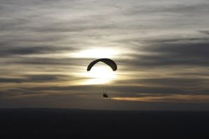 Un'esperienza in paracadute