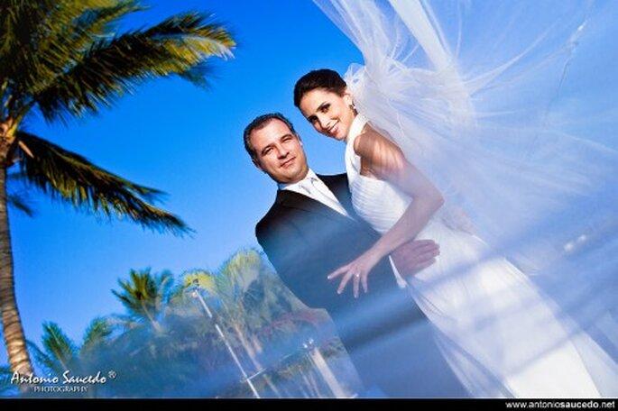 Fotógrafos de boda en México.  Foto de Antonio Saucedo