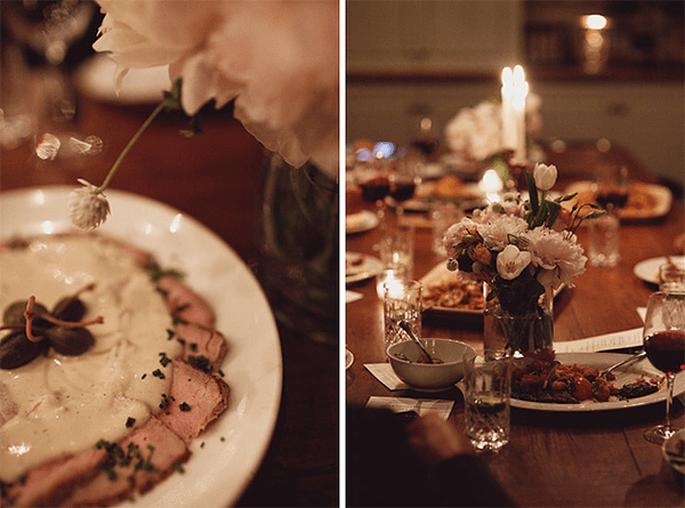 Buffet mit Freiheiten oder lieber ein klassisches Menü für Ihr Hochzeitsessen?