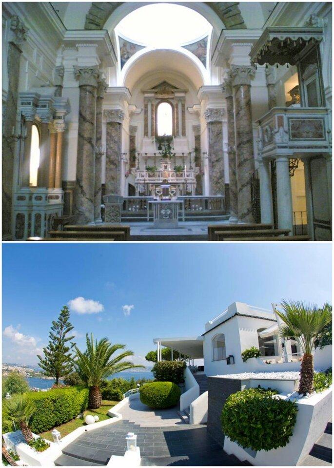 Chiesa di Santa Maria delle Grazie e Hotel Cala Moresca