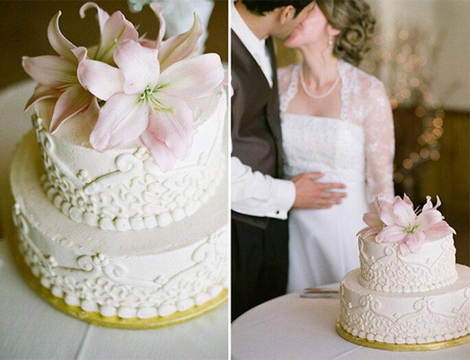 El rosa es uno de los colores predilectos en bodas. Foto de Amy Majors