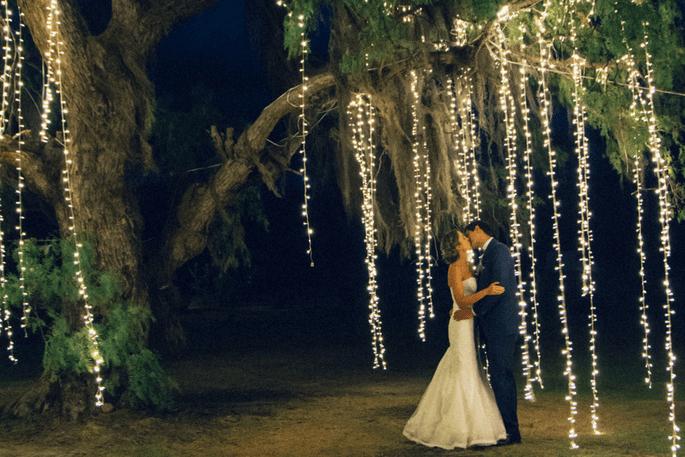 Luces para boda