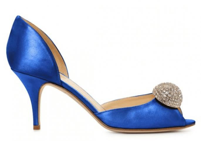 Zapatos de tacón con apliqués de pedrería en el empeine - Foto Kate Spade