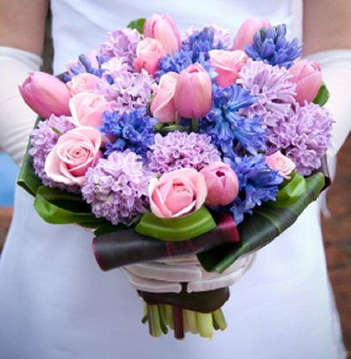 Bouquets de noiva redondos  - www.inovardecoracao.com.br