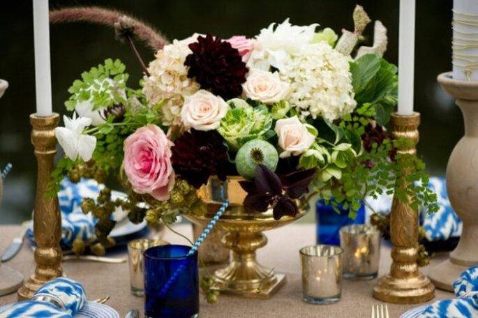 Colores en tendencia para bodas en primavea 2014 - Foto Aislinn Kate Photography