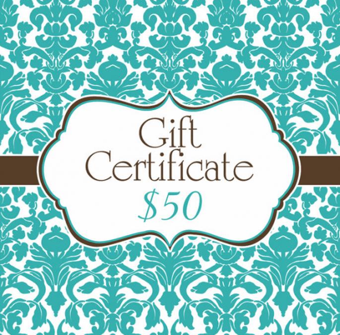 Certificado de regalo para el cortejo de boda - Foto Etsy