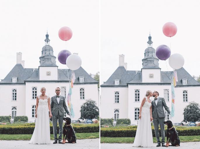 Pantone presenta el color del año 2014 para bodas: Orquídea Radiante. Fotografía Nancy Ebert