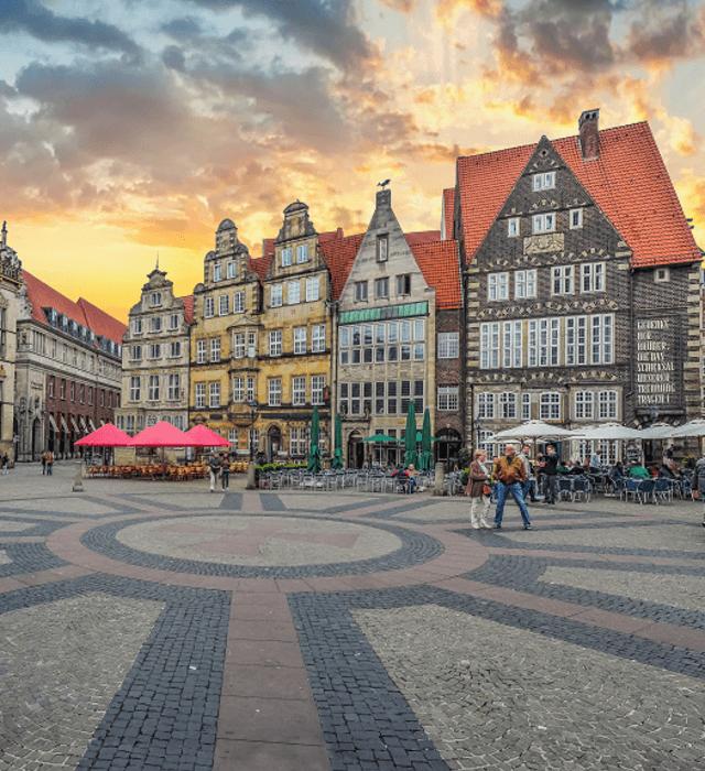 Hochzeitsdienstleister Bremen mit Meerblick