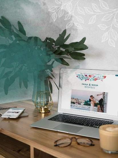 CREA UNA PAGINA WEB DE TU MATRIMONIO, ES GRATIS Y SOLO EN 2 CLICS