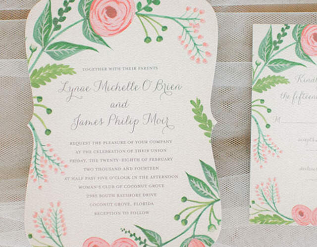Wedding Invitations in New York