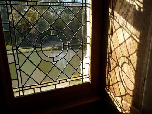 Vue depuis l'intérieur du Château d'Azay-le-Rideau