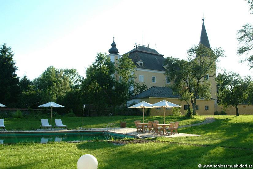 Beispiel: Gartenbereich, Foto: Schloss Mühldorf.