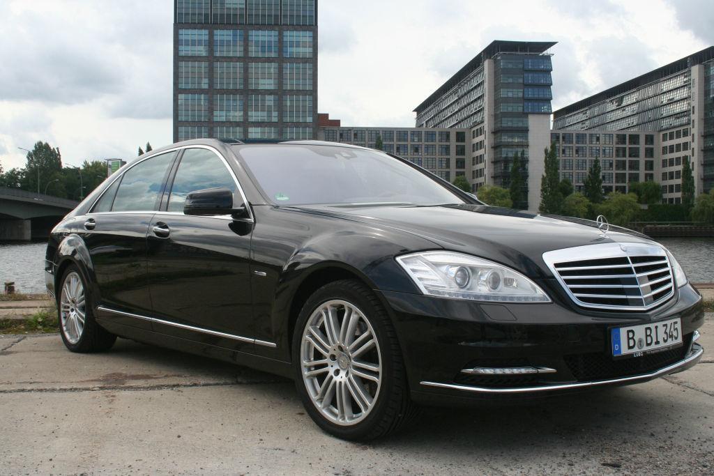 Beispiel: Ihre Mercedes S-Klasse, Foto: BBI Limousine.