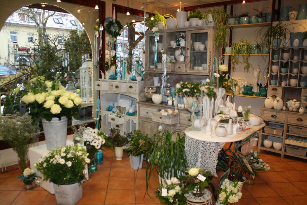 Beispiel: Das Geschäft, Foto: Blumenhaus Gloeden.