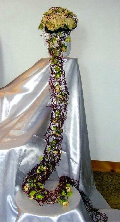 Beispiel: Individuelle Brautsträuße, Foto: Blumen Kleissner.