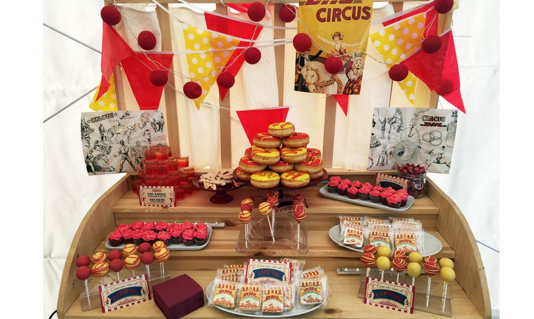 Candy bar temática Circo