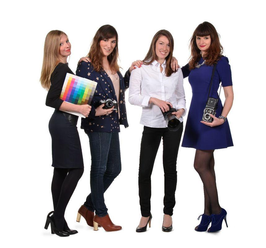 Mademoiselle photo, c'est 4 photographes à votre service !