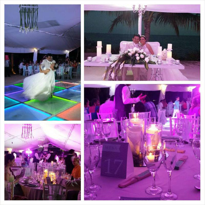 Boda H & E, boda en gris & menta, boda en la playa