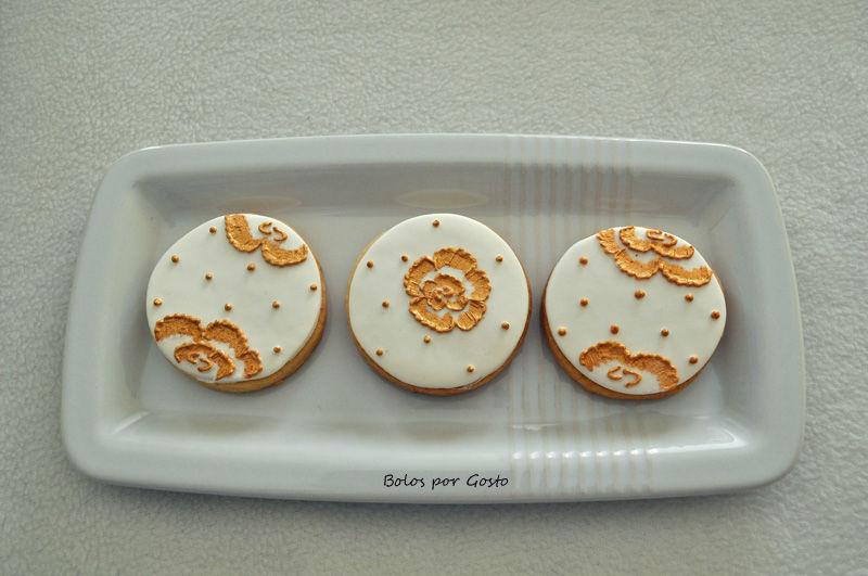 Bolachas para mesa de doces ou oferta aos convidados.