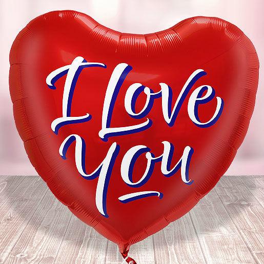Beispiel: XXL Herzluftballon