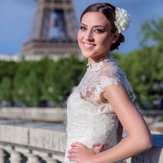 Beaumenay Joannet Paris - accessoires caraco dentelle