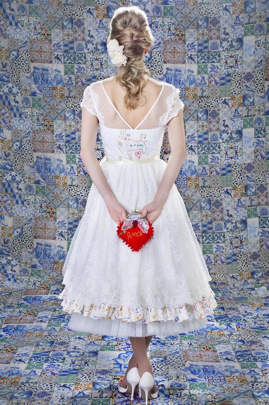 Vestido Lenço dos Namorados