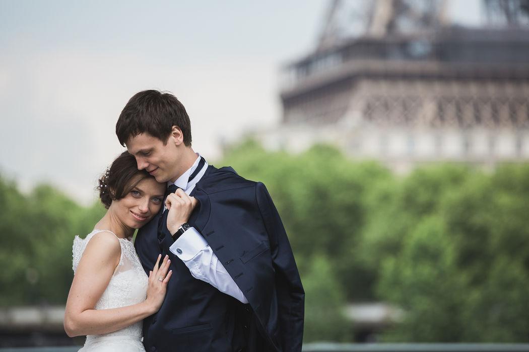 Mariage à Paris. Credit photo : OK Photo, photographe de mariage Paris . www.photodumariage.fr