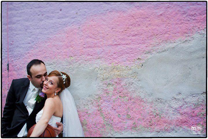 Beispiel: Kreative Hochzeitsfotos, Foto: Kajul Photography.