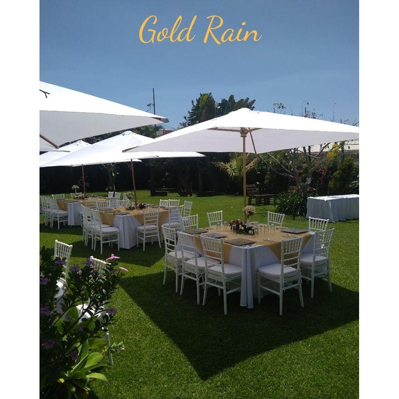 Jardín Gold Rain