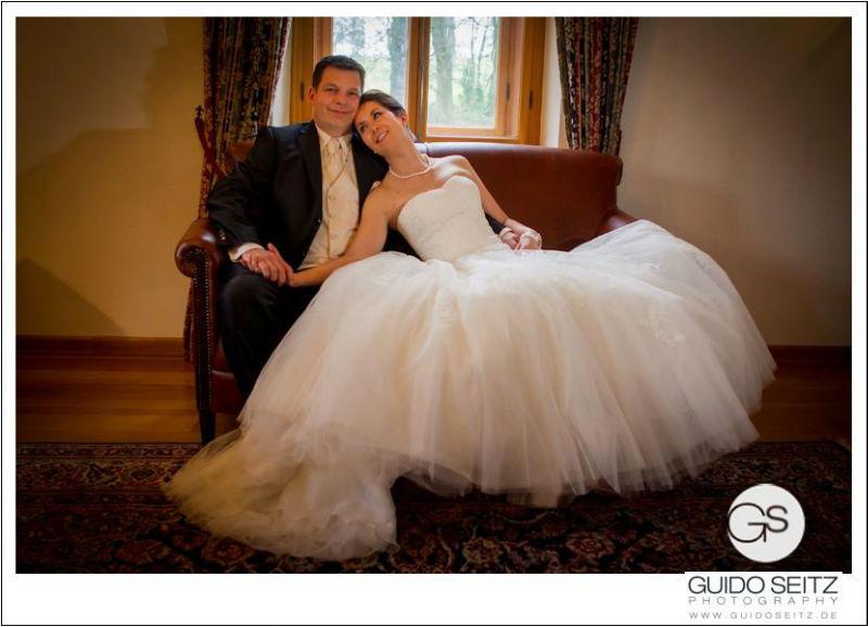 Beispiel: Portrait des Brautpaares, Foto: Guido Seitz Photography.
