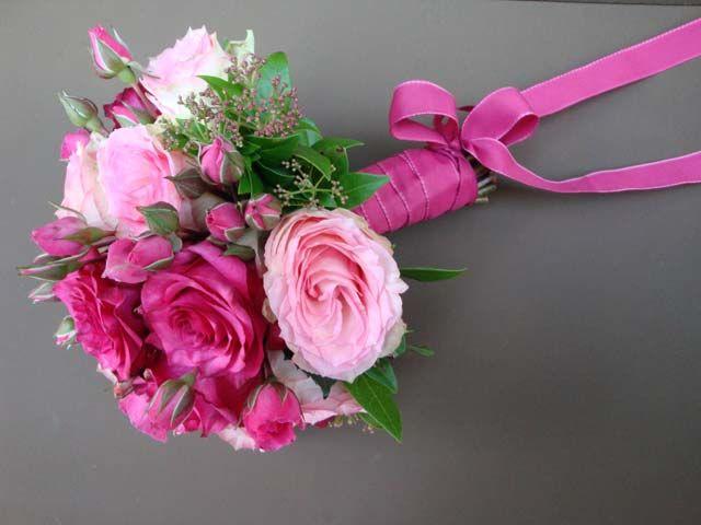 Fleurs, Fruits, Feuillages Bouquet de Mariée classique   www.fleurs-fruits-feuillages.fr