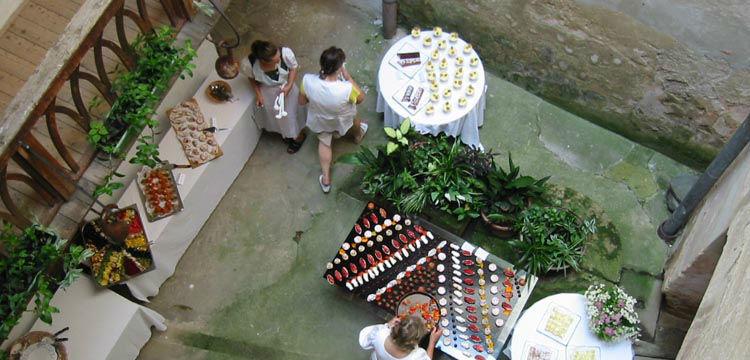 Beispiel: Kulinarische Feste, Foto: Schloss Kapfenstein.