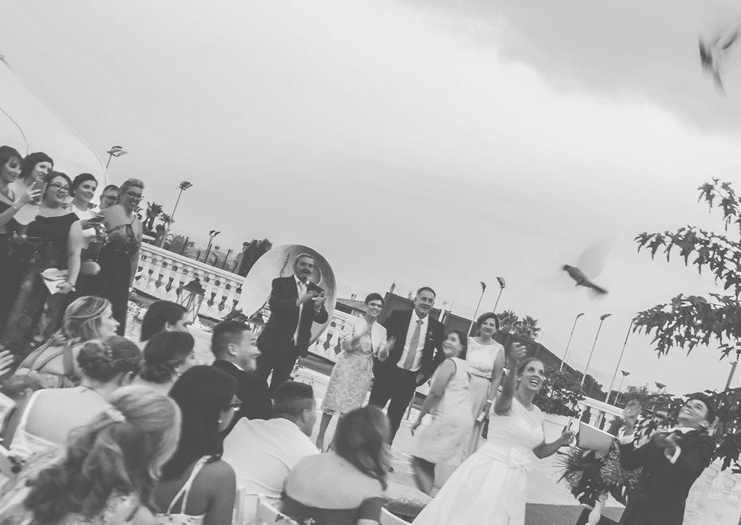 Momentos ceremonia civil