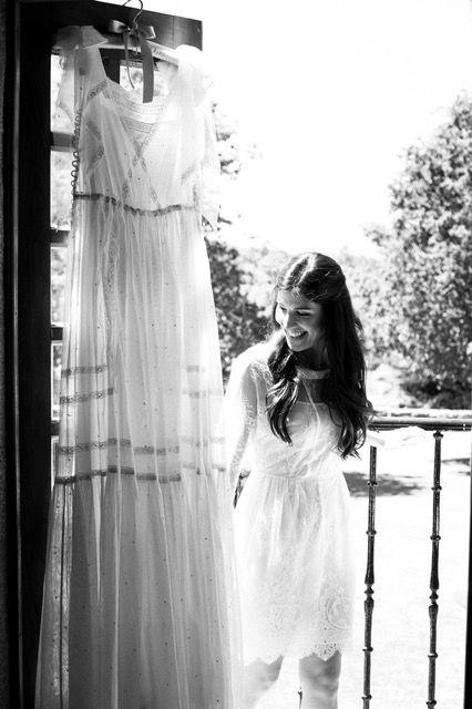 Vestido Pilar Bande. Fotografía: Per rueda