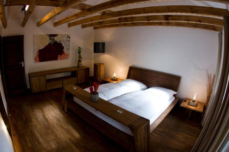 Beispiel Doppelzimmer im Gästehaus, Foto: Liebevoll in der Auermühle.