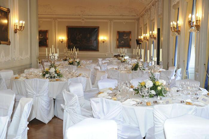 Beispiel: Hochzeitsgedeck, Foto: Zunfthaus zur Meisen.
