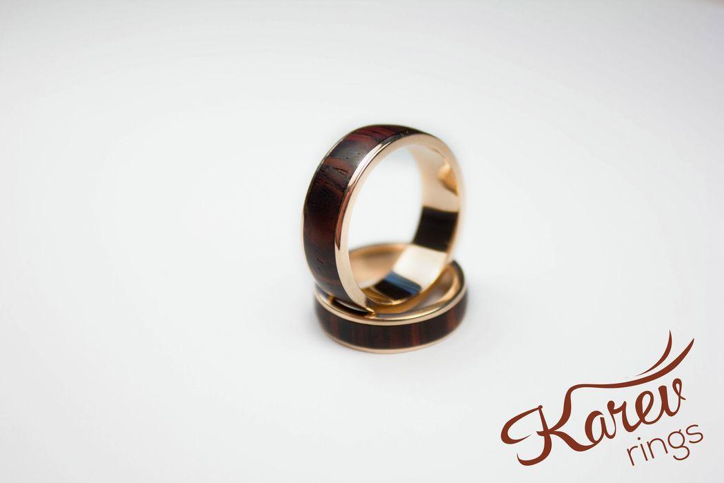 Авторские кольца Karev Rings