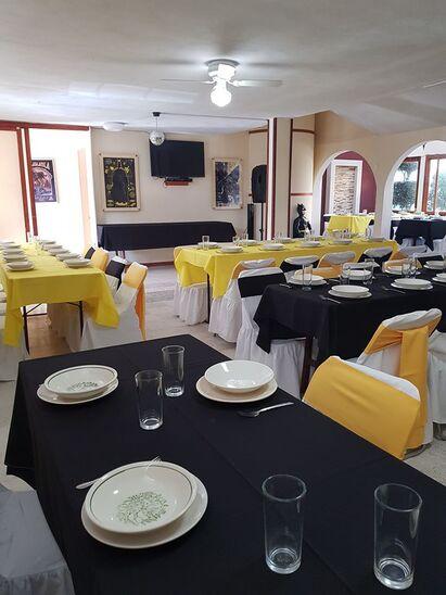 Salón de fiestas Rodaje