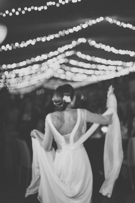 Vestido novia Pilar Bande Atelier. Fotografía: Volvoreta