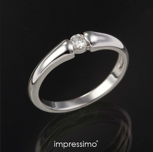 Pierścionek Impressimo - kolekcja Expletus. Złoto + brylant.