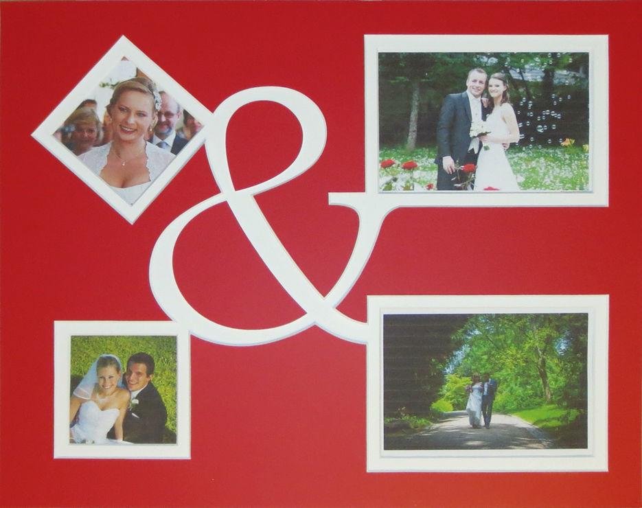 Beispiel: Kreative Ideen für Ihre Hochzeit, Foto: Bilderrahmen Lange.
