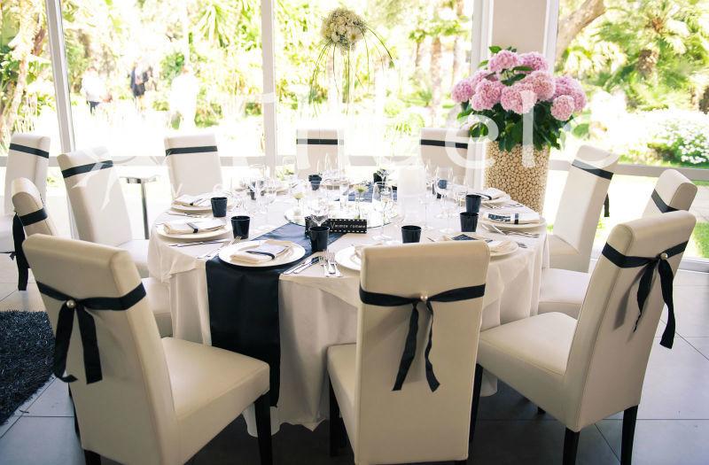 Thaelo Eventi Allestimento Black and White - Matrimonio Milazzo