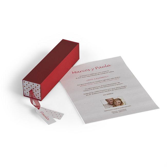 Invitación cajita especial Easycards