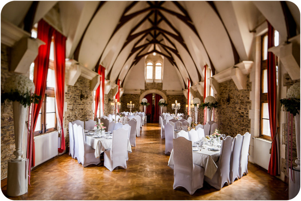 Mariage glamour au château