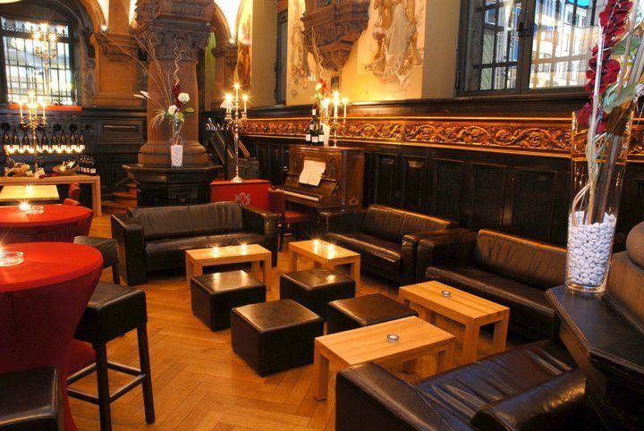 Beispiel: Loungevariante im Remter, Foto: Parlament.