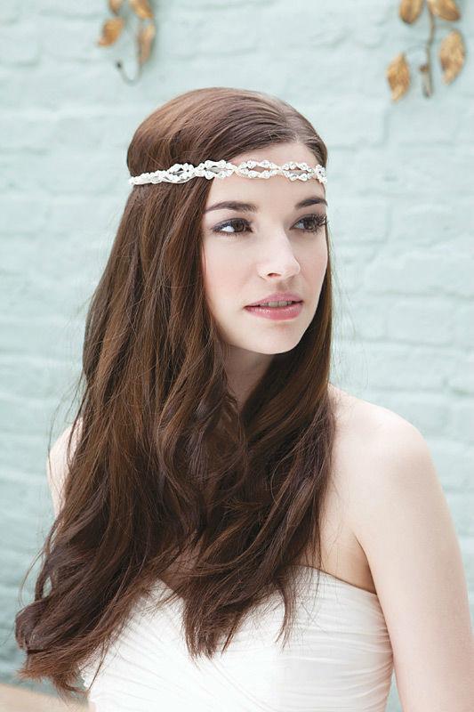 Beispiel: Haarschmuck für die Braut, Foto: Brautstudio Schak.
