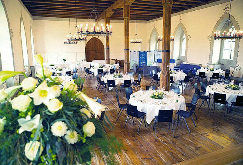 Beispiel: Festsaal, Foto: Schloss Lenzburg.